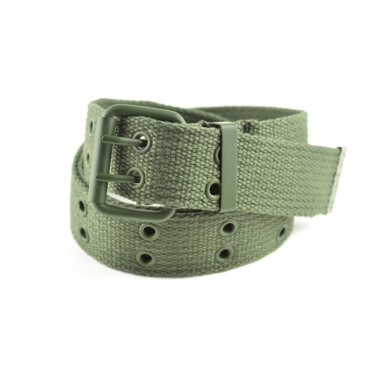 Wholesale Military Canvas Web Belts in Green Color e888f1a5974