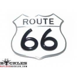 66 Route Belt Buckle