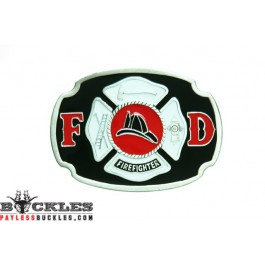 Firefighter Belt Buckle - Fire Department Belt Buckle