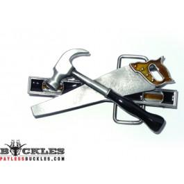 Tools Hammer Saw Belt Buckles