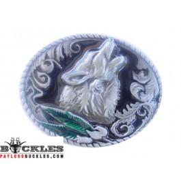 Wolf Belt Buckles
