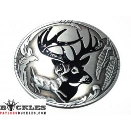 Deer Belt Buckle
