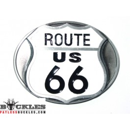 Route 66 Belt Buckle