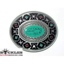 Azetic Design Belt Buckle
