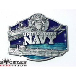 Army Military USA Navy Belt Buckle