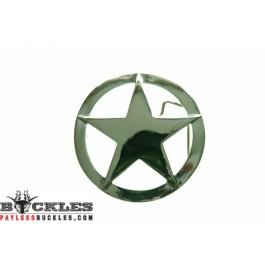 Marshal Sheriff Star Belt Buckles