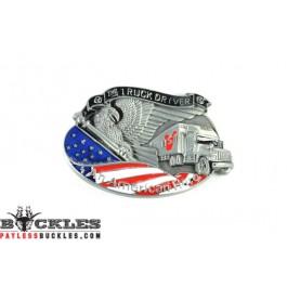 Truck Driver Belt Buckles