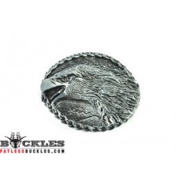 Eagle Head Belt Buckless