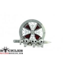 Skulls Belt Buckles - Skull Belt Buckles