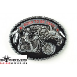 Biker Motocycle Belt Buckle