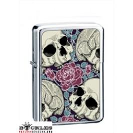 Wholesale Skull Rose Cigarette Lighters
