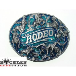 Cowboy Rodeo Belt Buckle