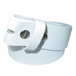 Wholesale Leather Belts in White