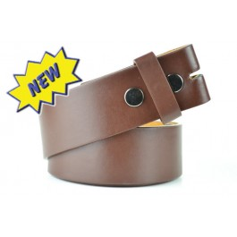 Wholesale Brown Snap-on Belt in Assorted Sizes - Fun003