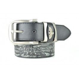 Wholesale Men's Leather Belt with Eagle Design - Fun203
