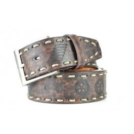 Wholesale Men's Belt with Stitch - Fun204