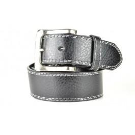 Wholesale Men's Leather Belt in Black - Fun205