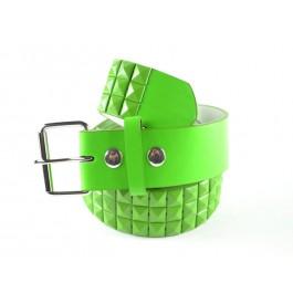 Wholesale Studded Belt Green Studs - Fun222