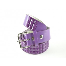 Wholesale Studded Belt Purple Studs - Fun223