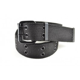 Wholesale Military Canvas Web Belts in Black Color 506