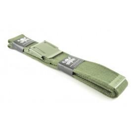 Wholesale Military Web Canvas Belts Plain Green