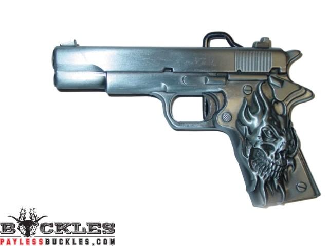 Gun Belt Buckle