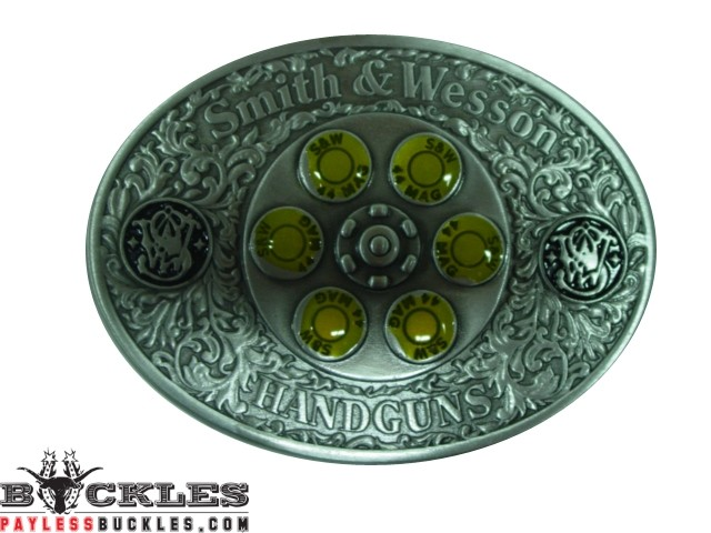 Spinner Smith and Wesson Belt Buckle ( This Spins in the middle )