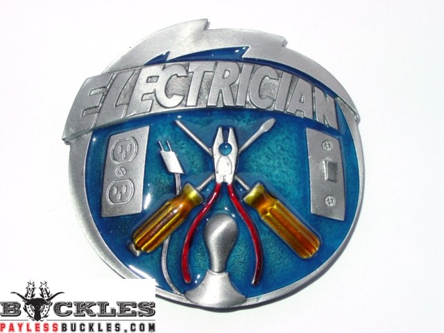 Electrician Belt Buckles