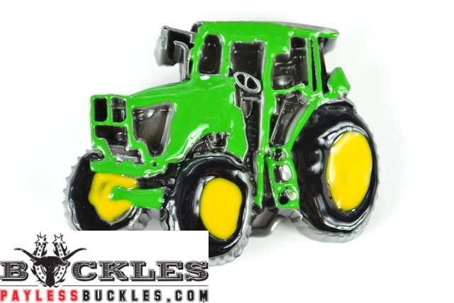 Farmer Tractor Belt Buckle