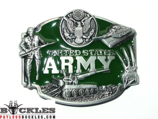 Military USA Army Belt Buckle