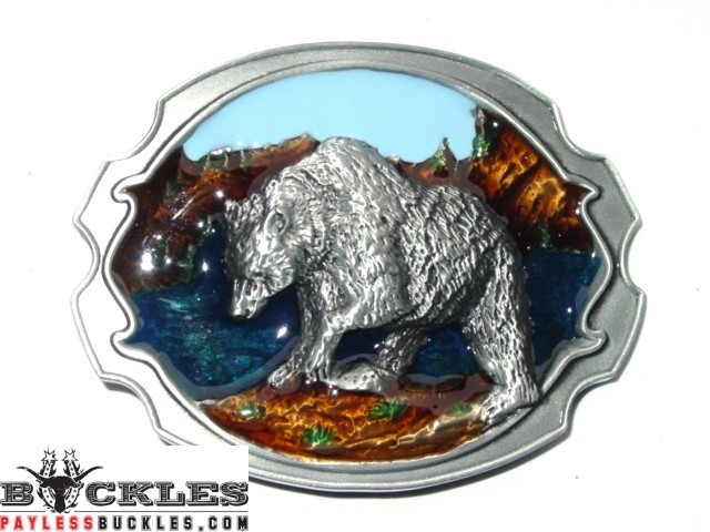 Bear Belt Buckle