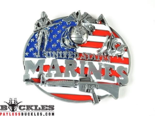 Wholesale United States Marines Belt Buckles