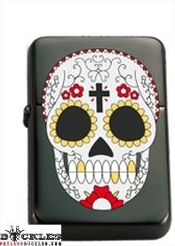 Wholesale Tribal Skull Cigarette Lighters