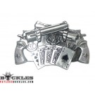 Spinner Pistol Gun Revolver Belt Buckle