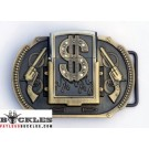 Dollar Lighter Belt Buckle