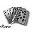 Straight Flush Belt Buckles - Card Belt Buckle