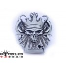 King Of Poker Card Belt Buckle