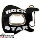 Wholesale Rock Star Bottle Opener Guitar Belt Buckles