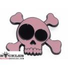 Wholesale Pink Skull Belt Buckles