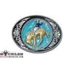 Cowboy Rodeo Belt Buckle