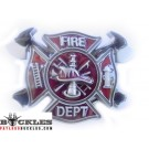 FireFighter Belt Buckle - FD Fire department Belt Buckle