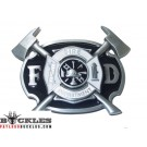 FD Firefighter Belt Buckle