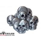 Pile of Skull Belt Buckles - Skull Belt Buckles