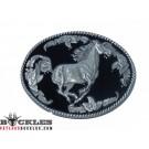 Western Horse Belt Buckles