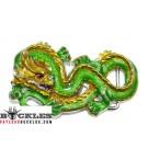 Green Dragon Belt Buckles