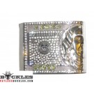 Rhinestone Money Belt Buckles