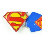 Triangle Superman Belt Buckles
