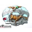 Hunting Deer Belt Buckle