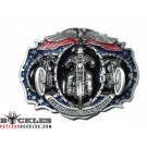 Live to Ride Motorcycle Belt Buckle