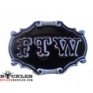 FTW Fuck The World Belt Buckles